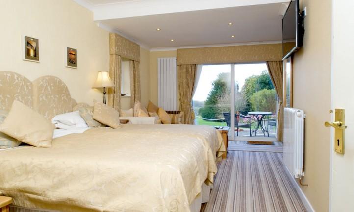 Statement Bedrooms With Garden Views