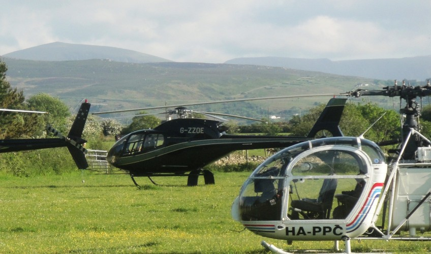 Helicopter Landings North Wales