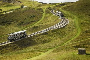 Great Orme Tramway Llandudno Conwy County North Towns and Villages