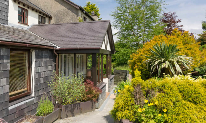 Carefully Designed Landscaped Snowdonia Gardens