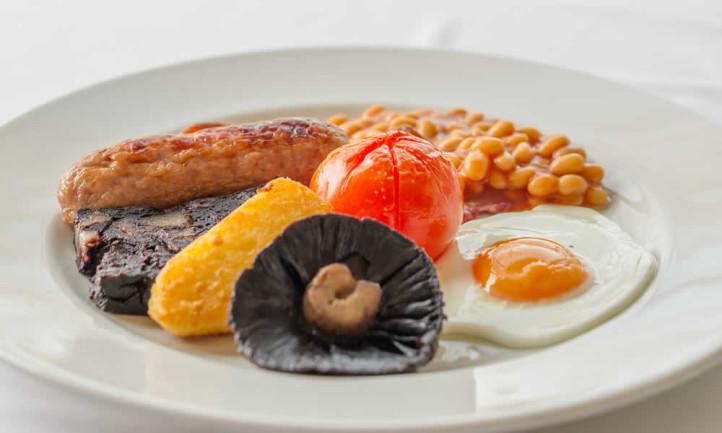 Full Breakfast at Tyn Rhos