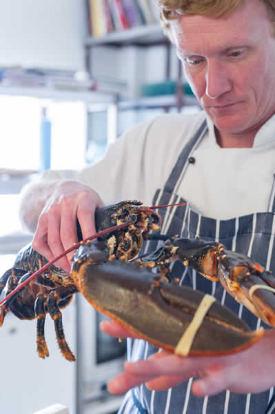 Local Seafood Delicacies at Tyn Rhos Fine Dining Restaurant this Summer