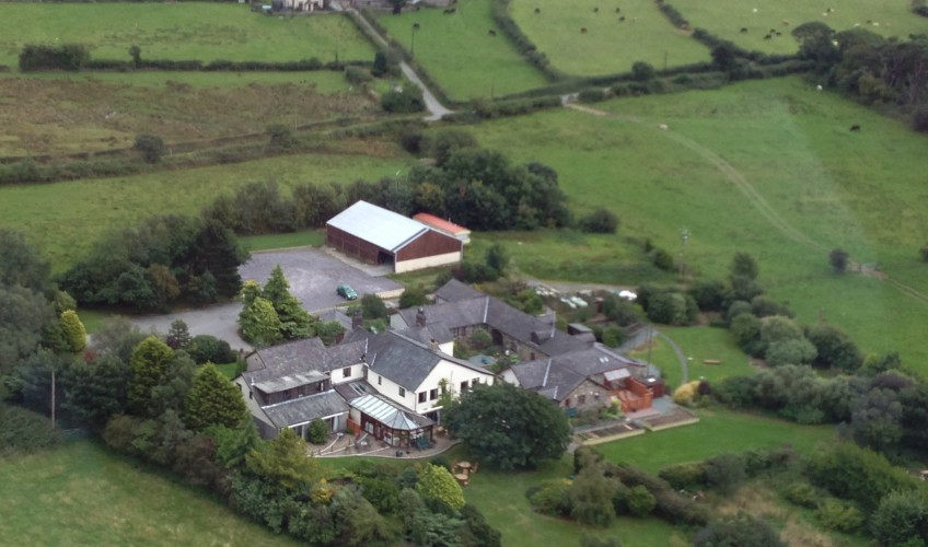 Tyn Rhos Aerial Photo Of Grounds