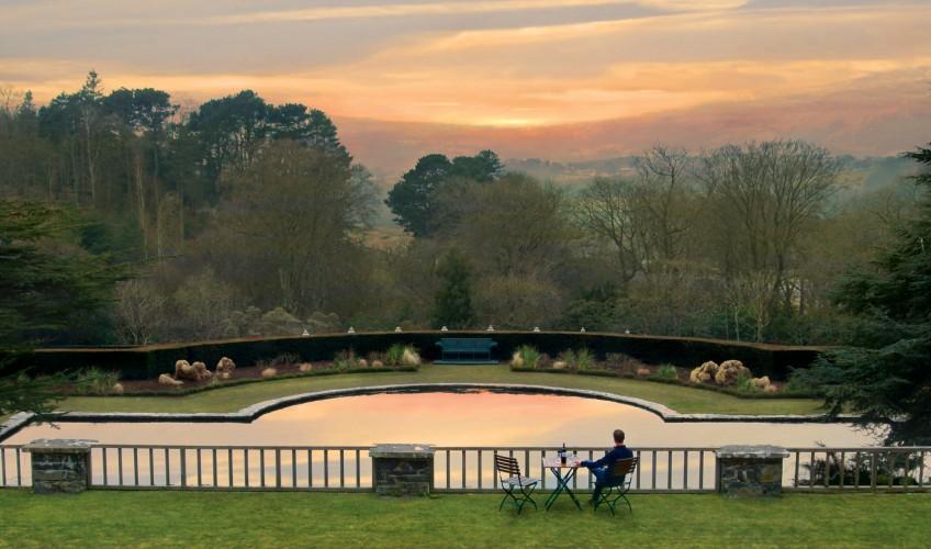 Bodnant Gardens - View