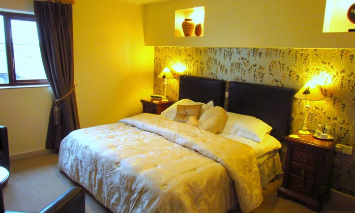 Bedrooms at Tyn Rhos