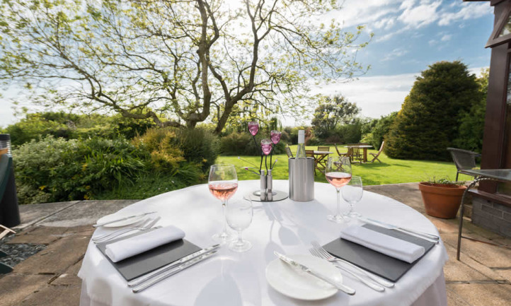 Dine In Our Expansive Gardens In Summer